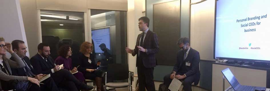 Event Review: Personal Branding And Social CEOS' For Business