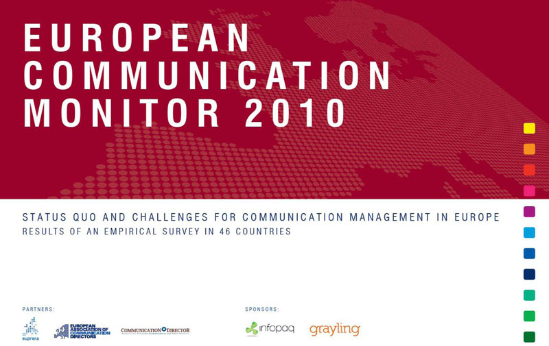 Survey: European Communication Monitor 2010