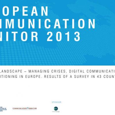 Survey: European Communication Monitor 2013