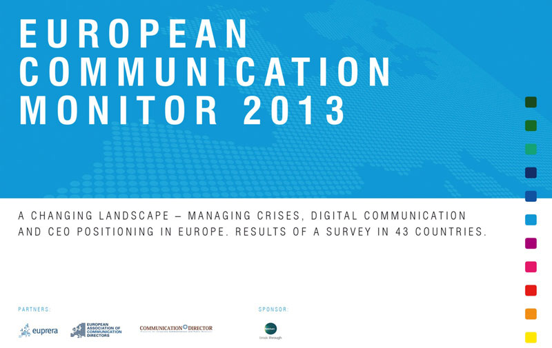 Survey: European Communication Monitor 2013