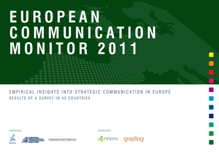 Survey: European Communication Monitor 2011