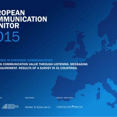 European Communication Monitor 2015