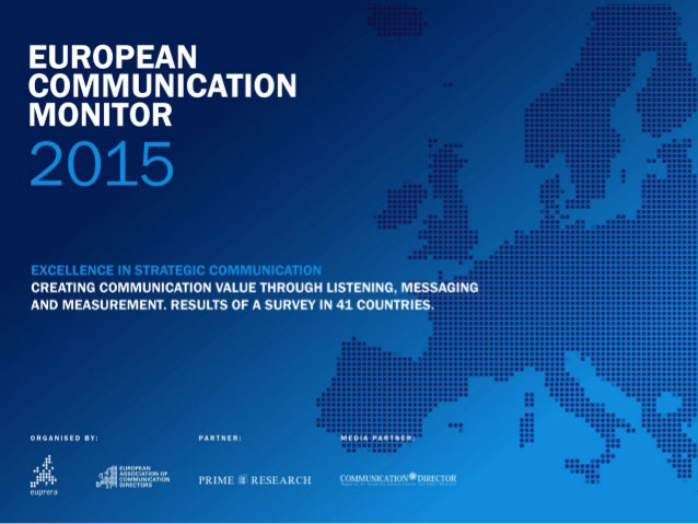European Communication Monitor 2015