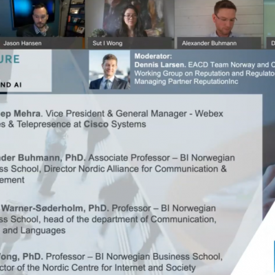 Webinar Report: Changing Culture and Climate: the role of CommTech and AI