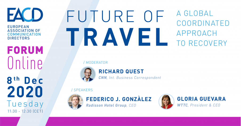EACD FORUM – The Future of Travel