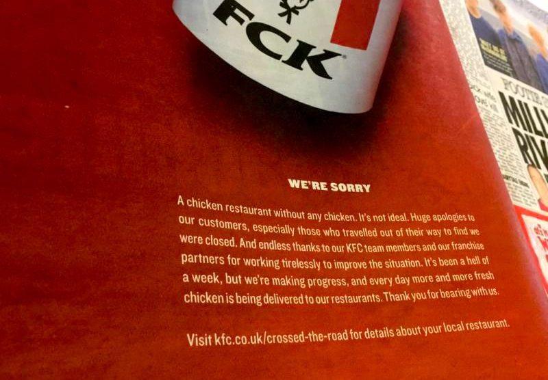 The Great Chicken Shortage